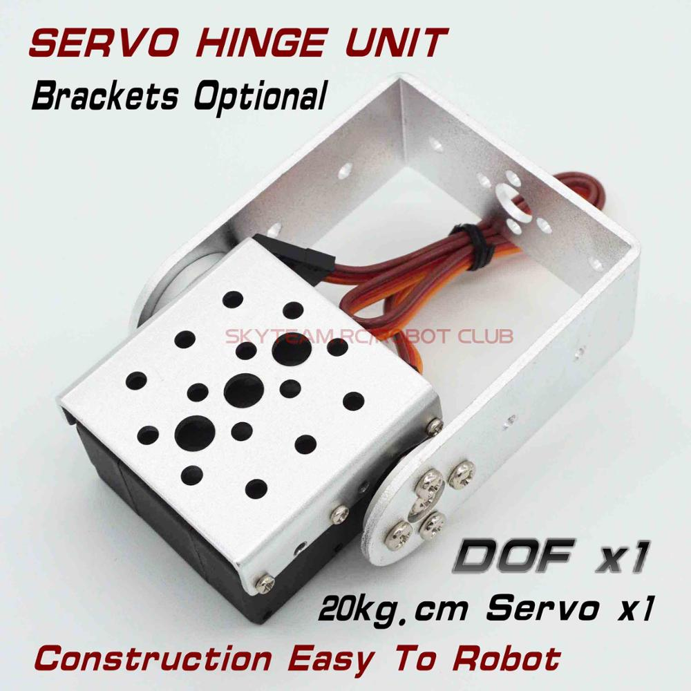 RDS3115/3120 15-20kg 180 270 doble eje Digital Servo Metal engranajes Robot Servo para avión Robot brazo bisagra unidad robótica DIY unidad