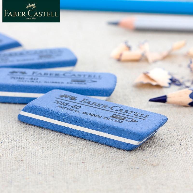 Faber Castell 7016-40 Natural Rubber Erasers 1Piece Ink Eraser Sand Rubber Fountain Pen Rubber Erasers For Kids