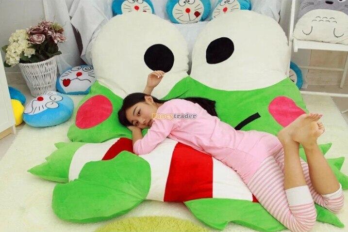 Fancyالتاجر-أريكة سرير الضفدع العملاقة ، 180 سنتيمتر × 165 سنتيمتر ، حصير ، شحن مجاني