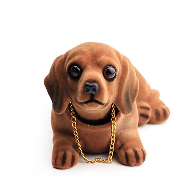AliExpress - Car Headshake Dog Pendant Car Interior Cute Headshake Dog Creative Spring Resin Simulation Doll Pendant