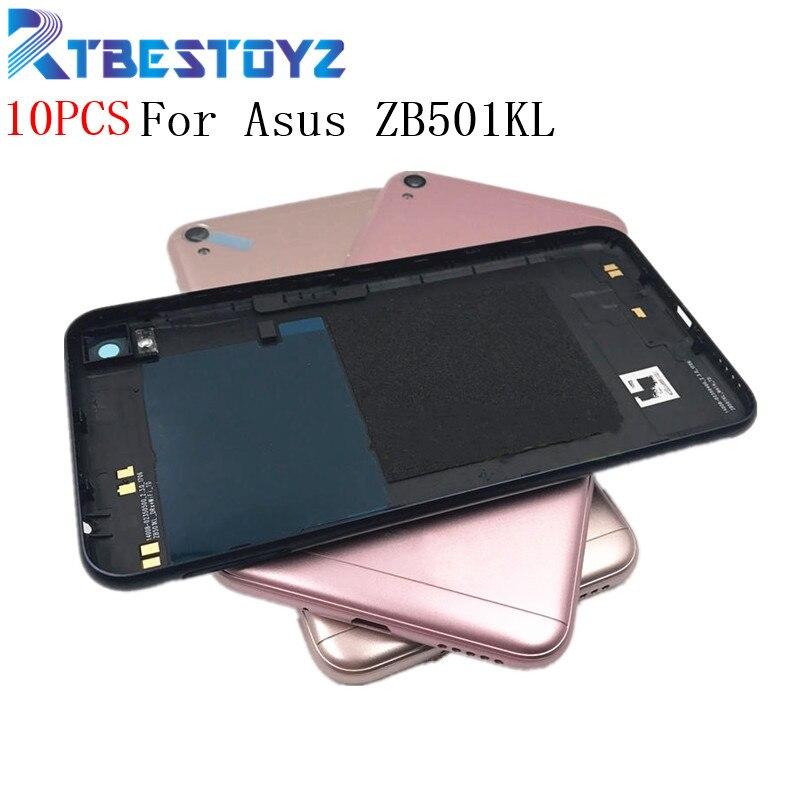 Rtbestoyz 10 pçs/lote zb501kl bateria de volta capa para asus zenfone viver zb501kl bateria porta volta caso habitação