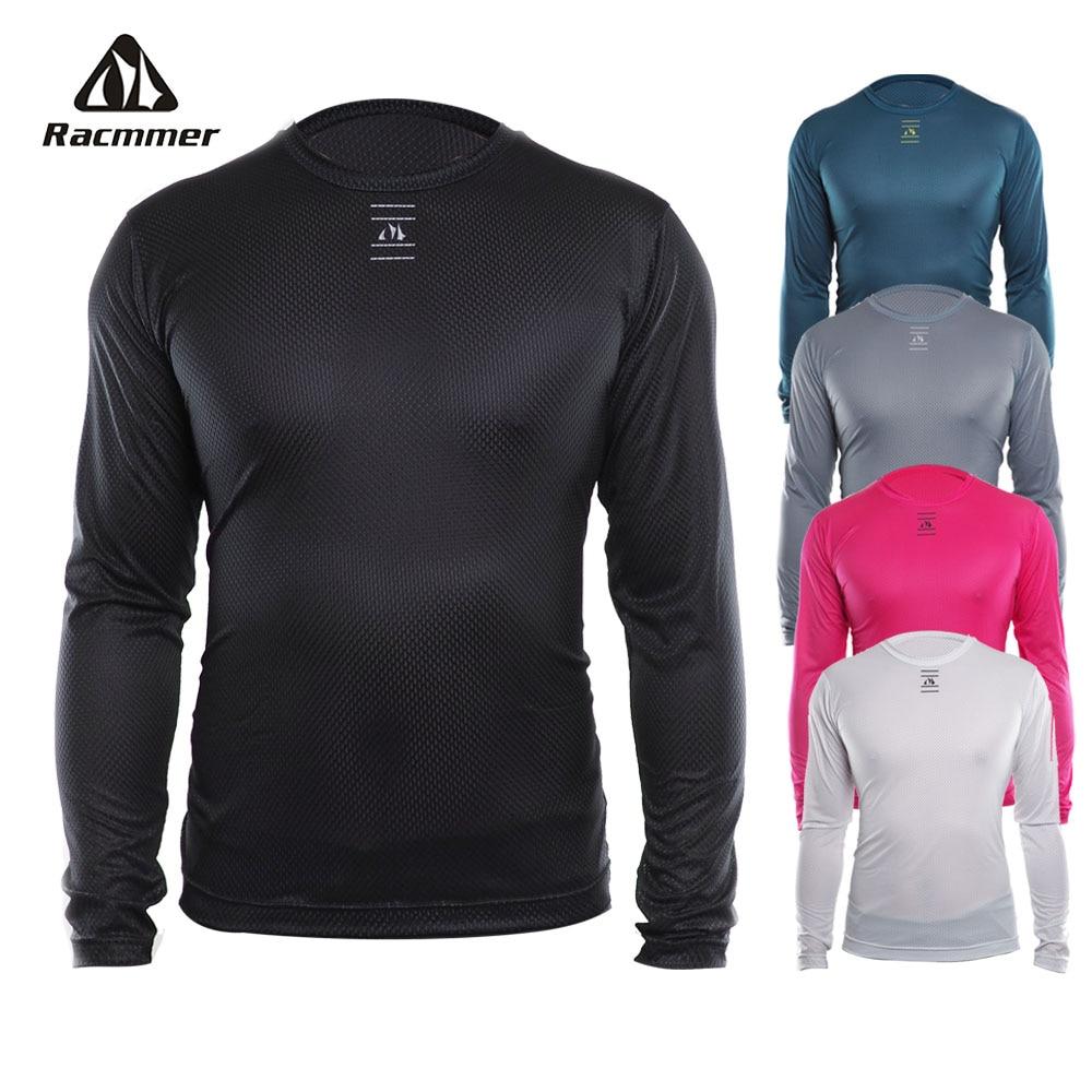 Racmmer 2020 крутая велосипедная сетка для фитнеса, велосипедная Базовая велосипедная рубашка с длинным рукавом, спортивное дышащее нижнее белье, Ciclismo