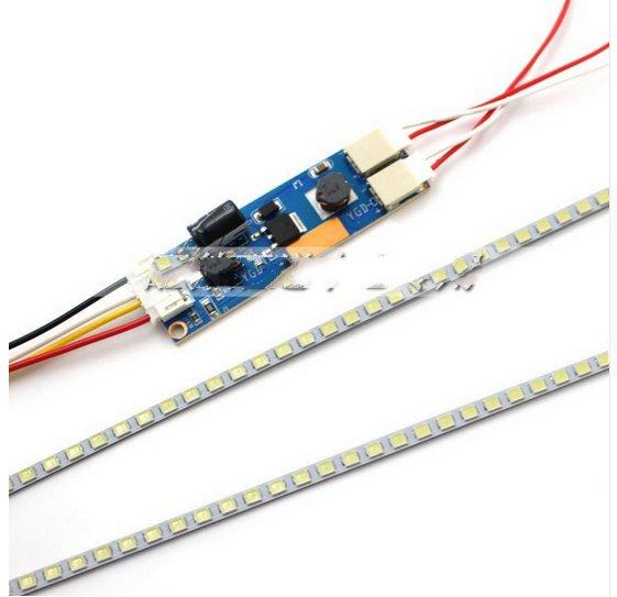 Highlight Dimmbar FÜHRTE Hintergrundbeleuchtung Lampen Update LED Licht für 19 2022 24LCD Monitor 2 LED Streifen + Board Set 540mm