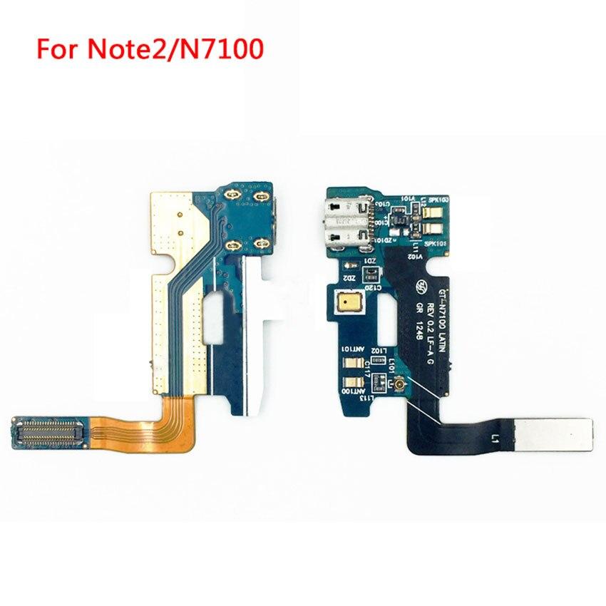 Für Samsung Galaxy Note 2 N7100 Usb-ladeanschluss Dock-anschluss Flex Kabel Ersatzteile ersatz