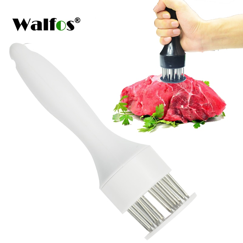 WALFOS Tender Loose Meat Steak Meat Hammer Smashing Meat Tenderizer Pounders With Stainless Steel Needle  Cooking Tools