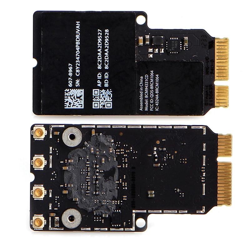 Tableta-Nueva Banda Dual BCM94331CD BT 4,0, tarjeta inalámbrica para Apple iMAC A1418 A1419 MacBook