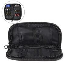 1 Set New Darts Accessories Carry Case Wallet Pockets Holder Storing Bag Black Durable