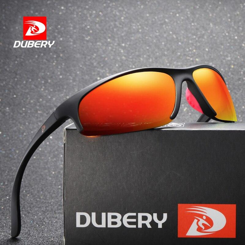 DUBERY Sunglasses New Polarized Men Retro Male Sun Glasses For Men Mirror Goggles Sunglasses Designe