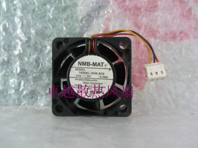 Original nmb 1606kl-05w-b39 4015 4 cm 24 v 0.06a convertisseur de fréquence copie machine ventilateur