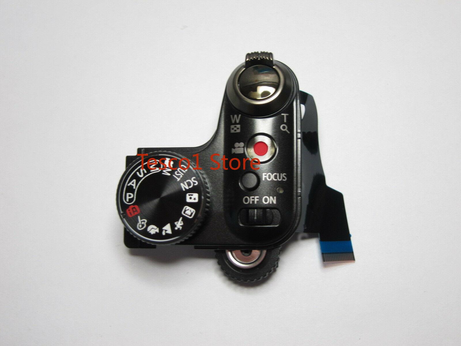Оригинальные запчасти для камеры DMC-FZ48 FZ48 верхняя крышка рабочий блок режим переключатель циферблата в сборе новый