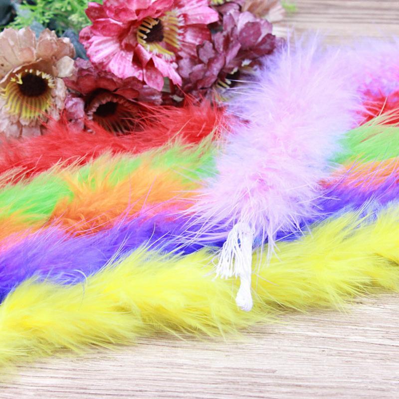 1 шт. 10 г 2 ярдов/длина, пушистое перо Боа супер качество Боа Из Перьев Марабу для вечеринки/костюма/шали боа из пера индейки