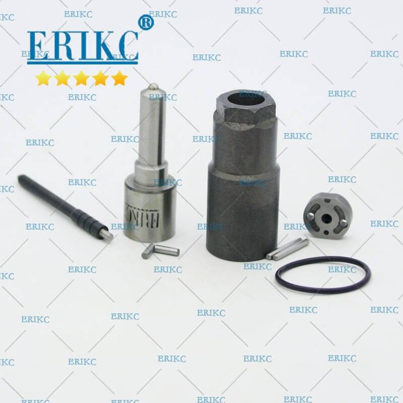 Erikc bocal dlla155p863 válvula placa 10 # kits de reparo do injetor de combustível para 095000-5921 095000-5920 23670-09070 23670-0l020