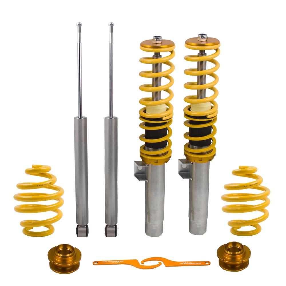 Kit de amortiguadores con resorte para BMW E46 3-BMW serie 320i 01-05 318i resortes amortiguadores 325Ci 328i 330i 318ti CABRIO