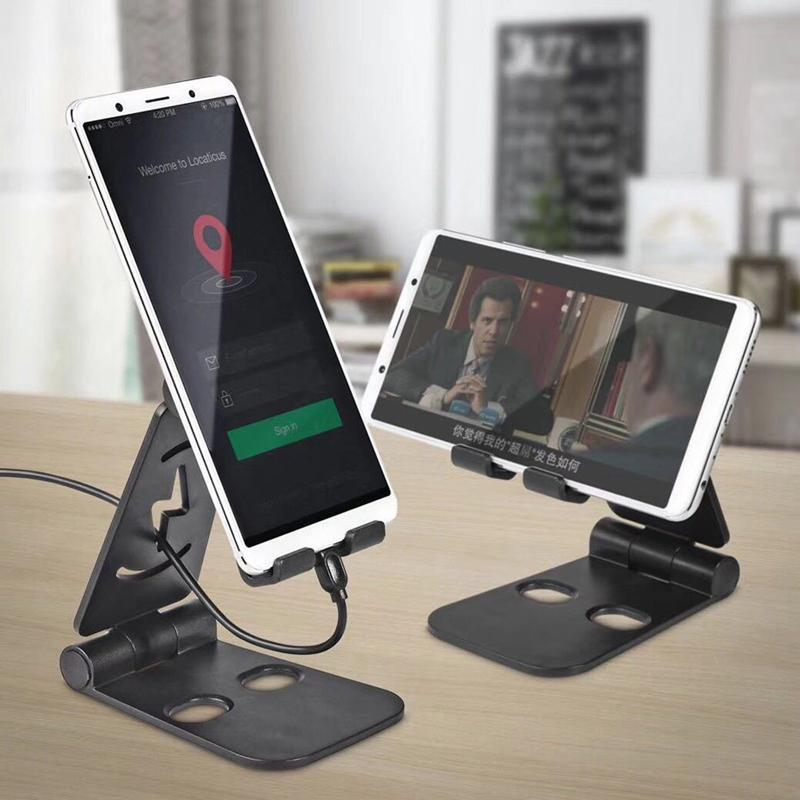 Group Vertical Universal Foldable Desktop Desk Stand Phone Holder Mount Plastic for Cell Phone Tablet Pad d18