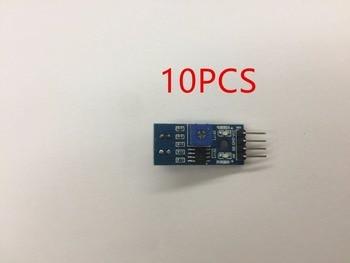10pcs TCRT5000 Infrared Reflectance Sensor Obstacle Avoidance Module Tracing Sensor Tracing Module for arduino Diy Kit