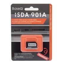 Lecteur furtif en aluminium de base adaptateur de carte mémoire Micro SD lecteur de carte SD pour Lenovo YOGA 900 et Lenovo YOGA 4 pro