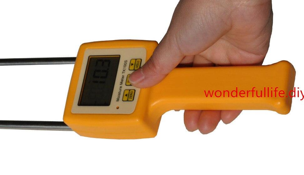 3 Pcs/Lot Corn wheat rice bean wheat flour tester 4 Digital LCD Grain moisture meter range 5-35% hygrometer