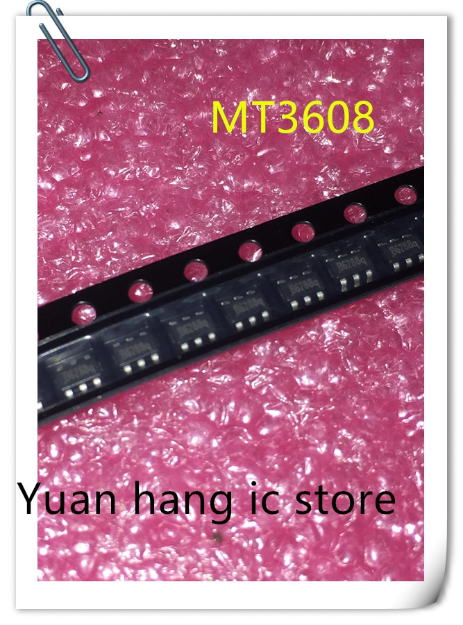 50PCS/LOT MT3608 B6286 B628 SOT23-6 5V 1.2A Special core for mobile power supply