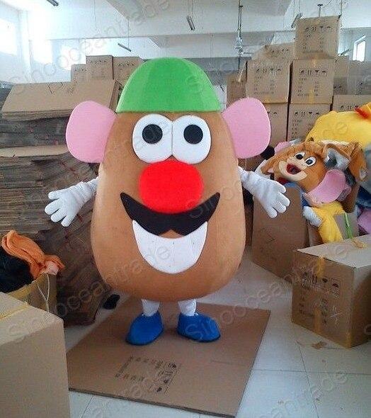 Mr. potato head animal traje de la mascota de dibujos animados mascota de disfraces fancy dress envío gratis