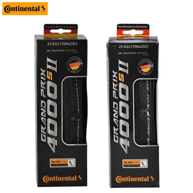 Continental Grand Prix 4000 S II Folding Tire 700x23c 700*25C Road Bike Tire