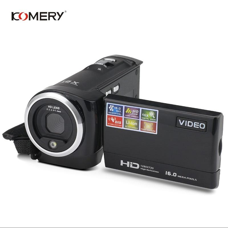 Kowery-cámara de vídeo HD, pantalla LCD de 2,7 pulgadas, Zoom Digital 16x,...