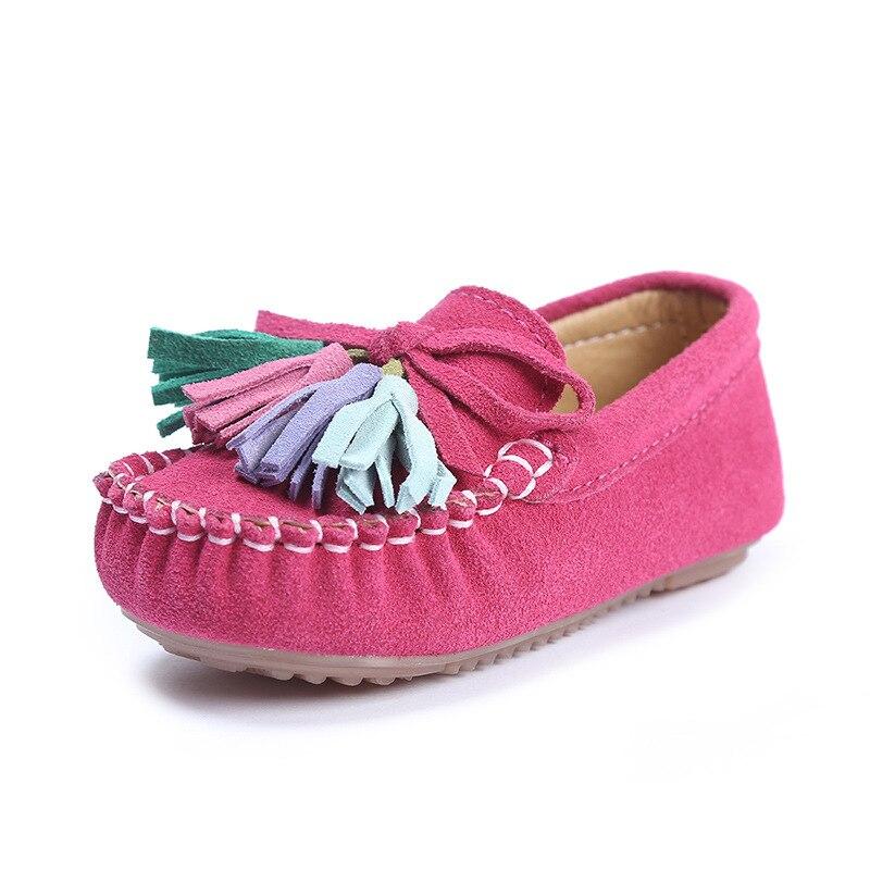 Детские мокасины; водонепроницаемые мокасины для девочек; туфли на плоской подошве; лоферы из натуральной кожи для мальчиков; Детские кросс...