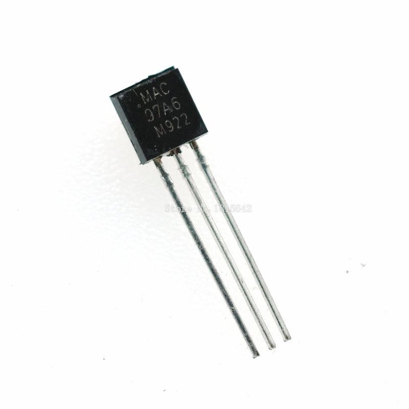 50PCS/Lot MAC97A6 97A6 TO-92 Triacs THY .6A 400V TRIAC new original