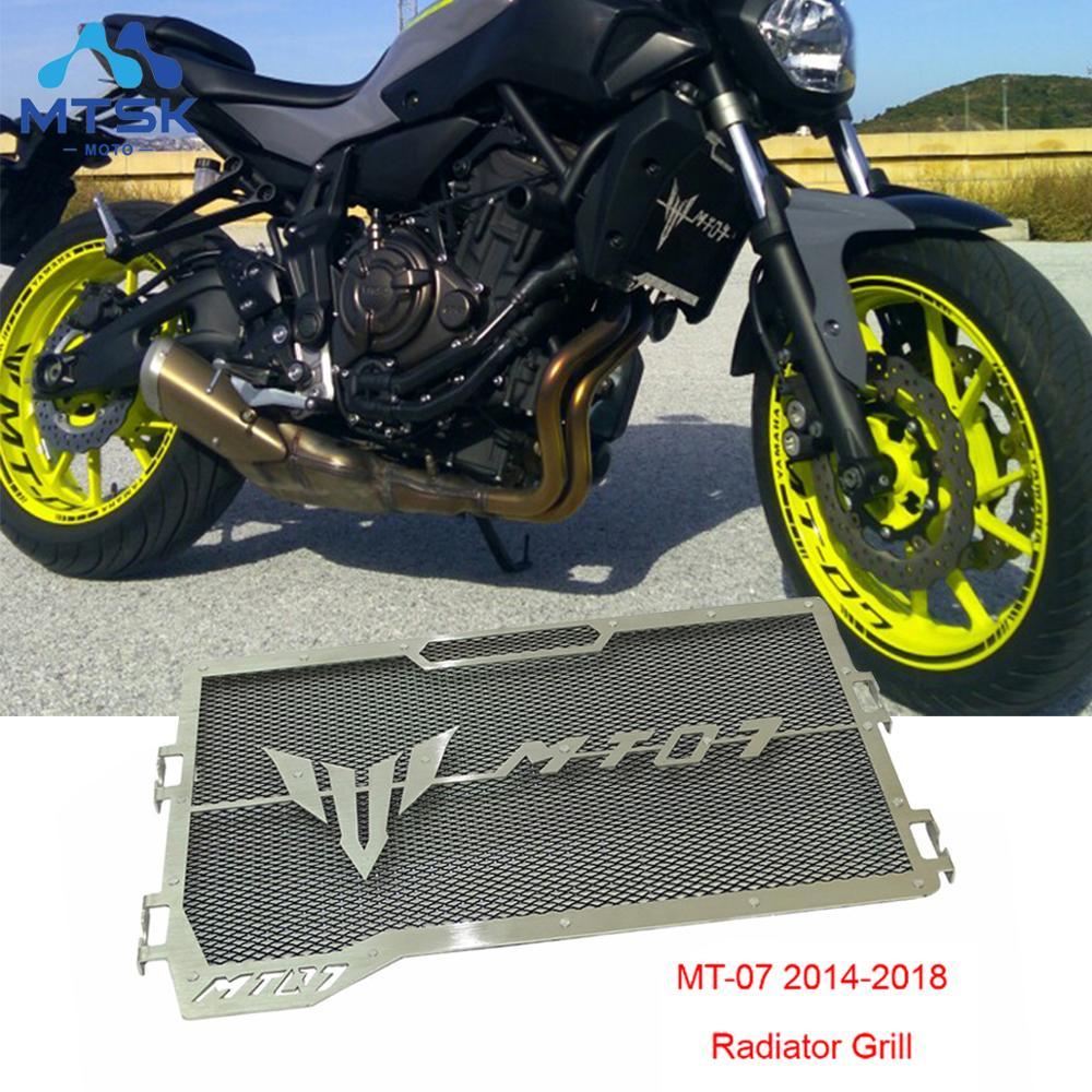 MT-07 2014 2015 2016 2017 2018 для YAMAHA MT 07 MT07 мотоциклетный радиатор защитный чехол решетка для гриля протектор