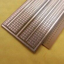 5pcs/lot 5x9.4cm 2-5er joint holes prototyping circuit board Stripboard Veroboard pcb Single Side Platine breadboard experiment