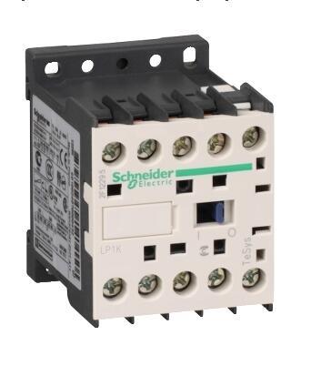 LP1K1210BD контактор TeSys K-3P-AC-3 <= 440 V 12 A - 1 NO aux. -24В DC катушка