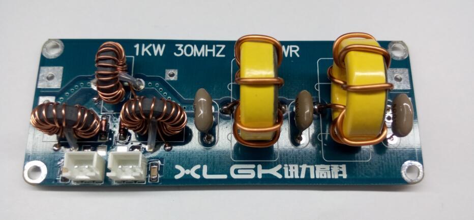 Filtre passe-bas assemblé LPF 1000 W 1KW 30 MHZ SWR pour sortie amplificateur HF SSB