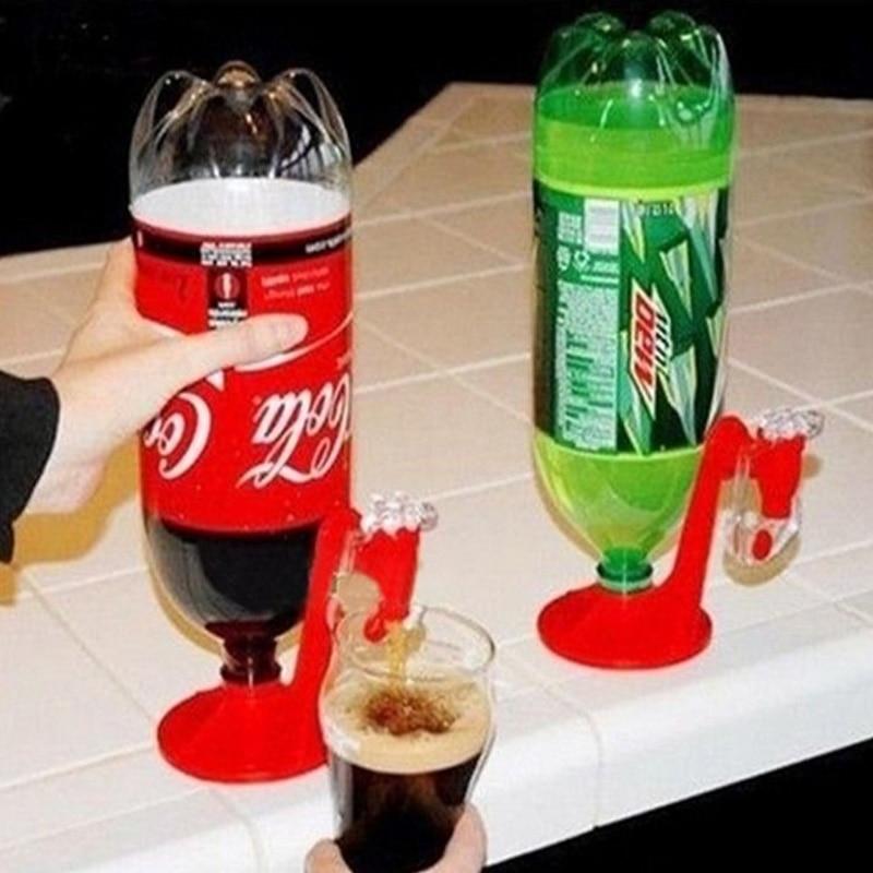 Home Office Bar 1 Pcs Soda Dispense Drinking Fizz Saver Dispenser Water Machine Tool Plastic Red Hot Sale On stock
