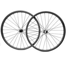 Vtt vélo disque carbone roues powerway M42 droit pull 100x15 142x12 carbone vtt roues 29er ultra-léger 34x3mm vélo roues