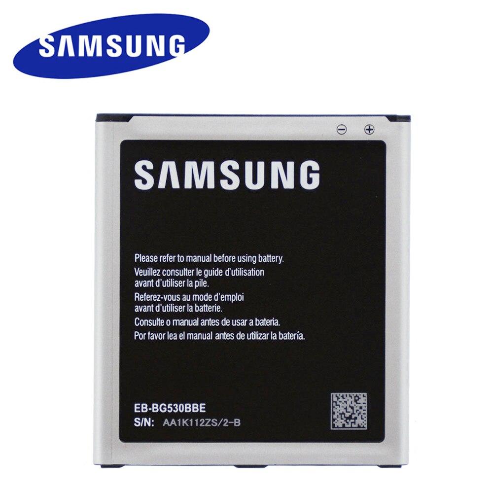 2600MAH Original de alta calidad batería de reemplazo EB-BG530BBE para Samsung Galaxy Grand Prime J3 J5 G530 G530F G530FZ G530Y