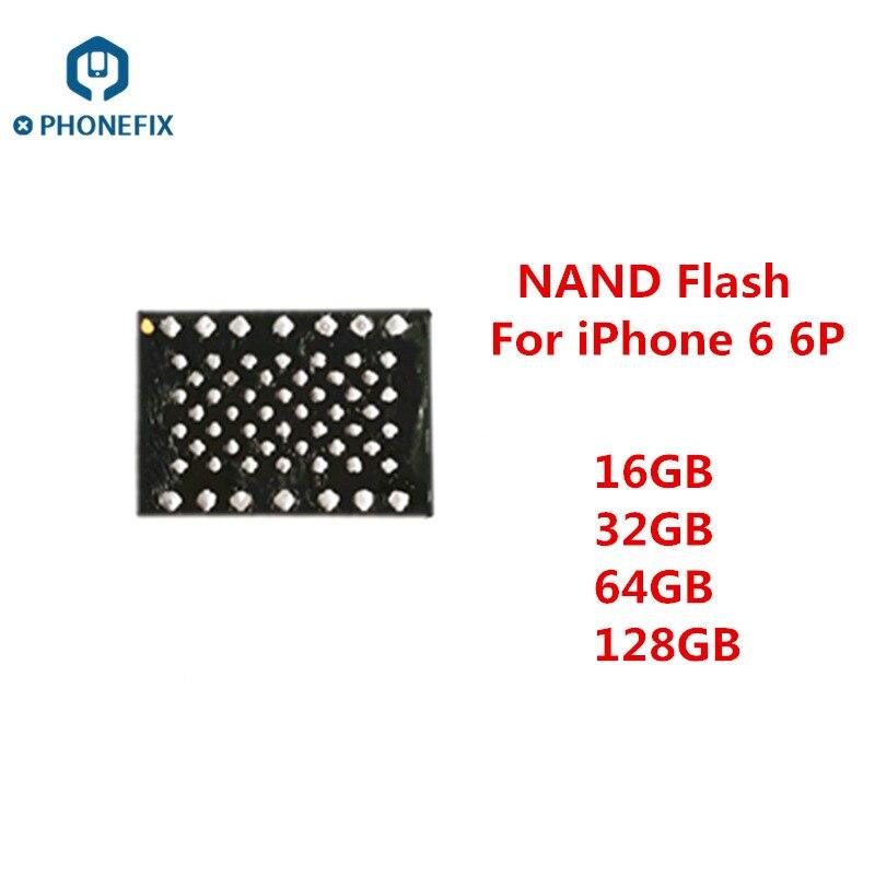 Замена чипов PHONEFIX NAND Flash IC Обновление памяти с паяльными шариками для iPhone 6 6Plus чип жесткого диска HDD