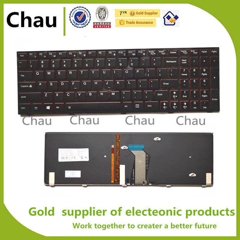 Nuevo para Lenovo IdeaPad Y500 Y500N Y500NT Y500S Y510 Y510P Y590 Y590N teclado de ordenador portátil de nosotros