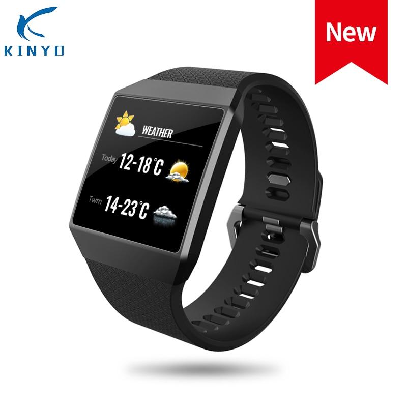 Новое Поступление Смарт-часы с пульсометром смарт-трекер сна ip67 водонепроницаемый браслет спортивный браслет умный женский и мужской pk xioami
