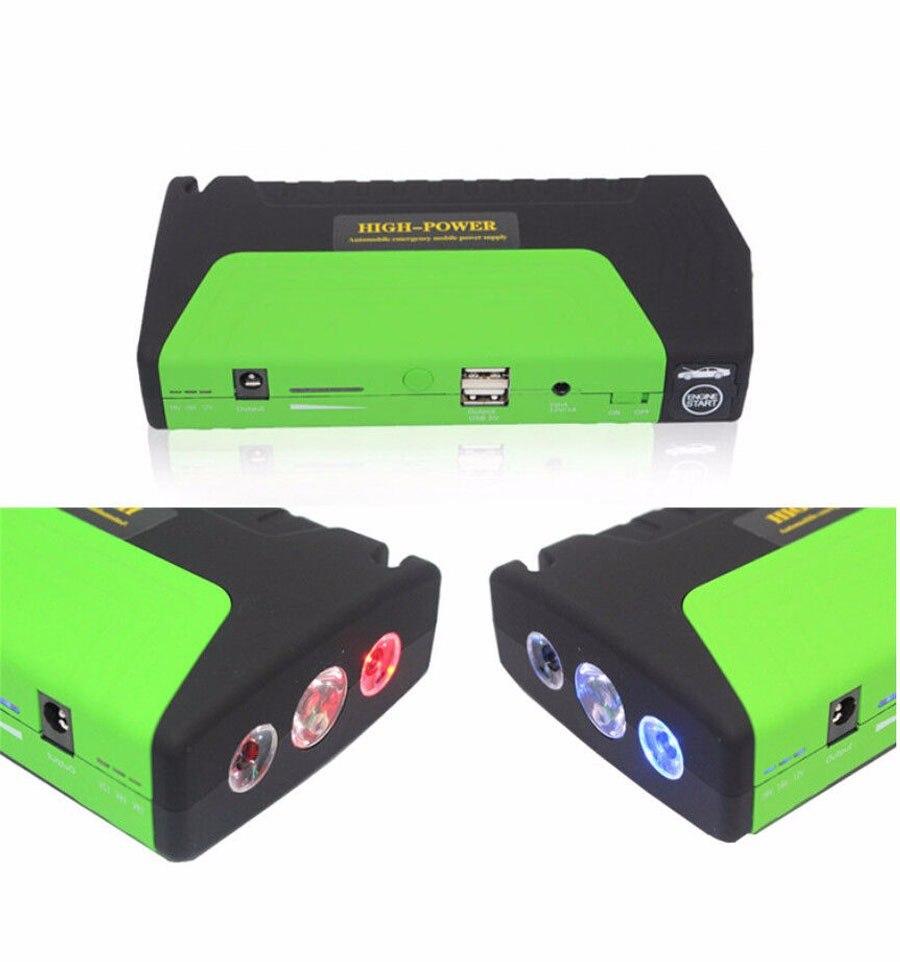 Arrancador de batería de coche 50800mAh 12V Paquete de cargador de batería de alta capacidad para arranque de Vehículo Automático y banco de energía de ordenador portátil Multi-función