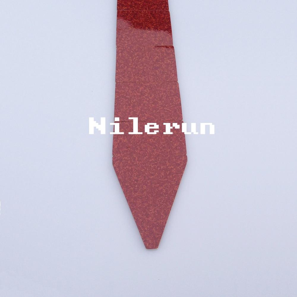 fashion red bamboo wooden necktie