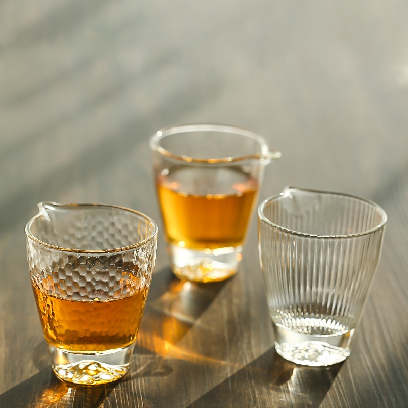 TANGPIN jarros de vidro do chá chahai vidro gongdaobei kung fu acessórios de chá de vidro 170 ml