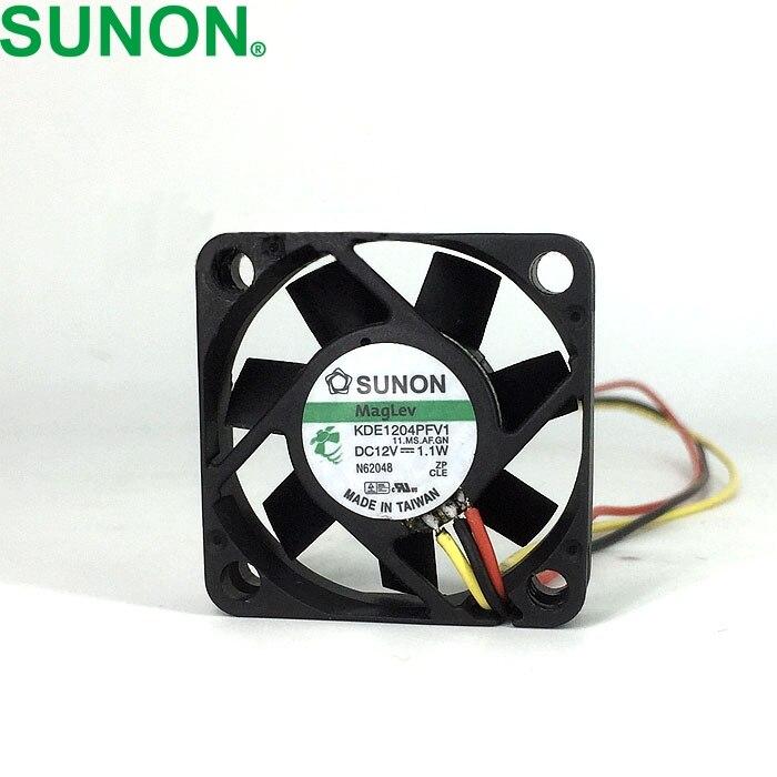 2 uds. Ventiladores de refrigeración maglev KDE1204PFV1 4010 40mm DC 12V 1,1 W 3 interruptor de ventilador de alambre