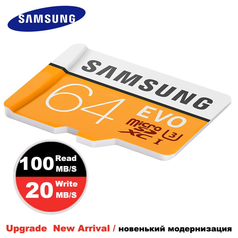 SAMSUNG Micro SD Memory Card 64gb 32gb Class 10 TF card Memoria Card microsd SDHC/SDXC UHS-I For Sport Camera & mobile phone