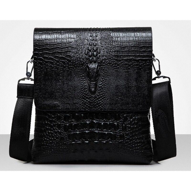Bolso bandolera Vintage para hombre, bolso bandolera de cuero Pu, bolso para teléfono de alta calidad para hombre