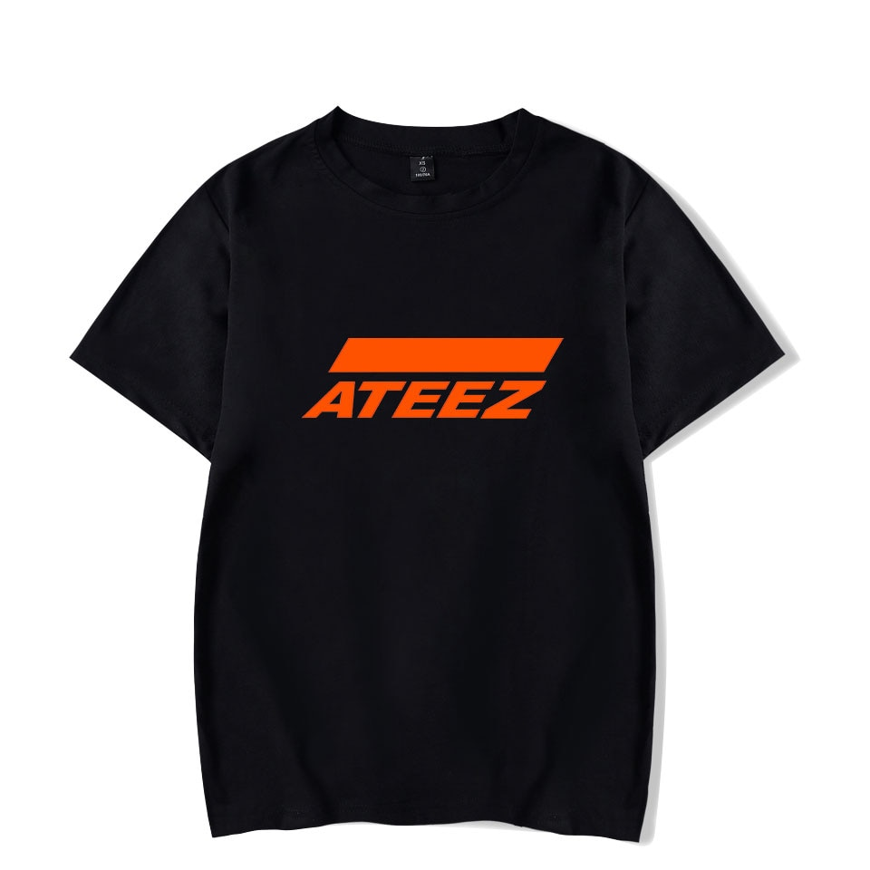 Новая Футболка kpop, футболка, топ Hongjoong Seonghwa Yunho Yeosang San Mingi Wooyoung Jongho ATEEZ, для подростков