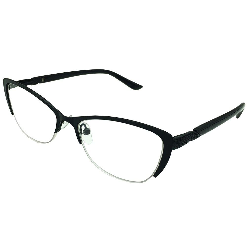 Senhoras Óculos De Leitura Computador Cateye Mulheres + 0.25 a + 4.0 Anti Blue Ray Leitores Preto Armações de Óculos Olho de Gato gafas Longsighted