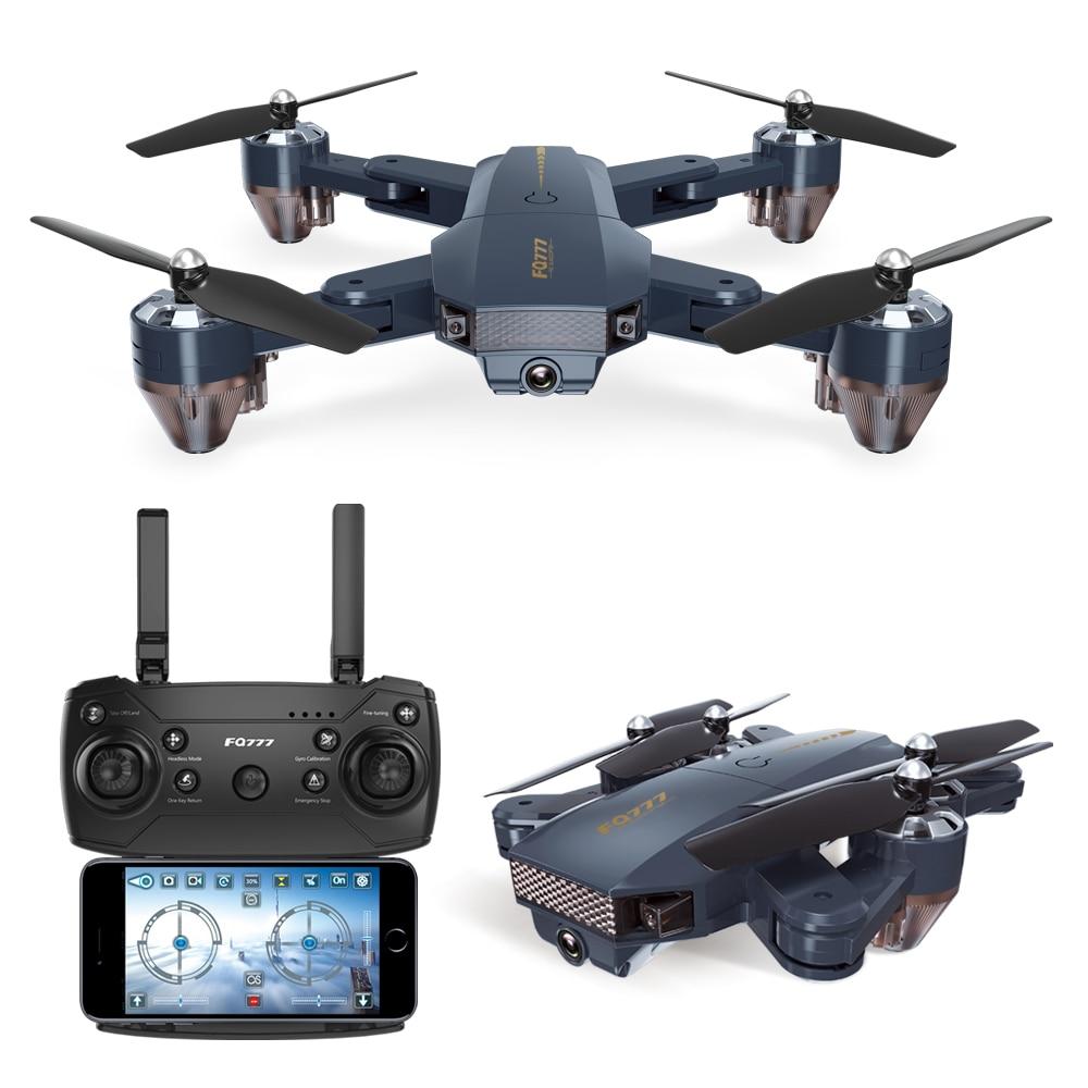 FQ777 FQ35 30W 200W Pixel 2,4G RC вертолет RTF WIFI FPV широкоугольный HD камера с высокой фиксацией без головы складной Квадрокоптер RC Дрон