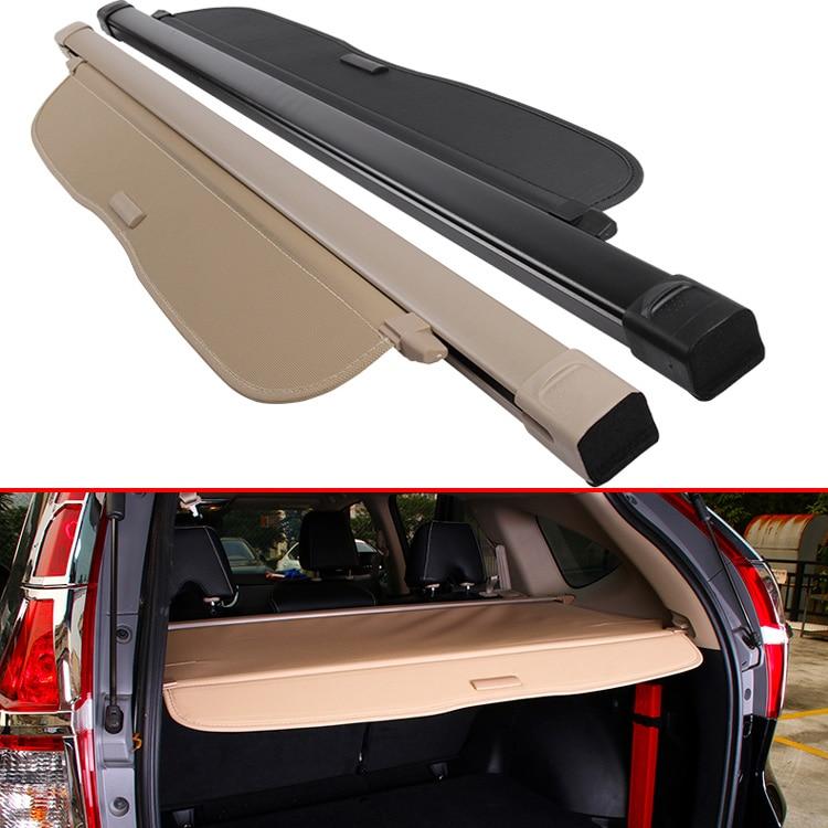 For HONDA CRV CR-V 2012-2016 Aluminum+Canvas Rear Cargo Cover privacy Trunk Screen Security Shield shade Accessories