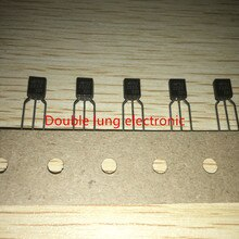 100 pçs/lote MPS2222A MPS2222 40V 0.6A TO-92 TRANS NPN Transistores Novo e original