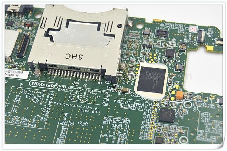 10 piezas 90% nueva placa base de montaje Original para 3 dsxl 3 dsll placa principal inferior al sistema 10,4 versión de EE. UU.