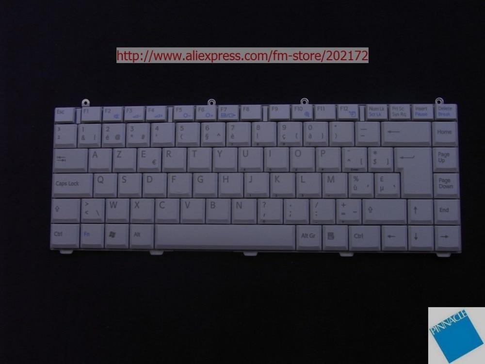 Teclado blanco para portátil 147915381 KFRMBL221A para SONY VAIO VGN-FS serie PCG 7D3P (Bélgica)